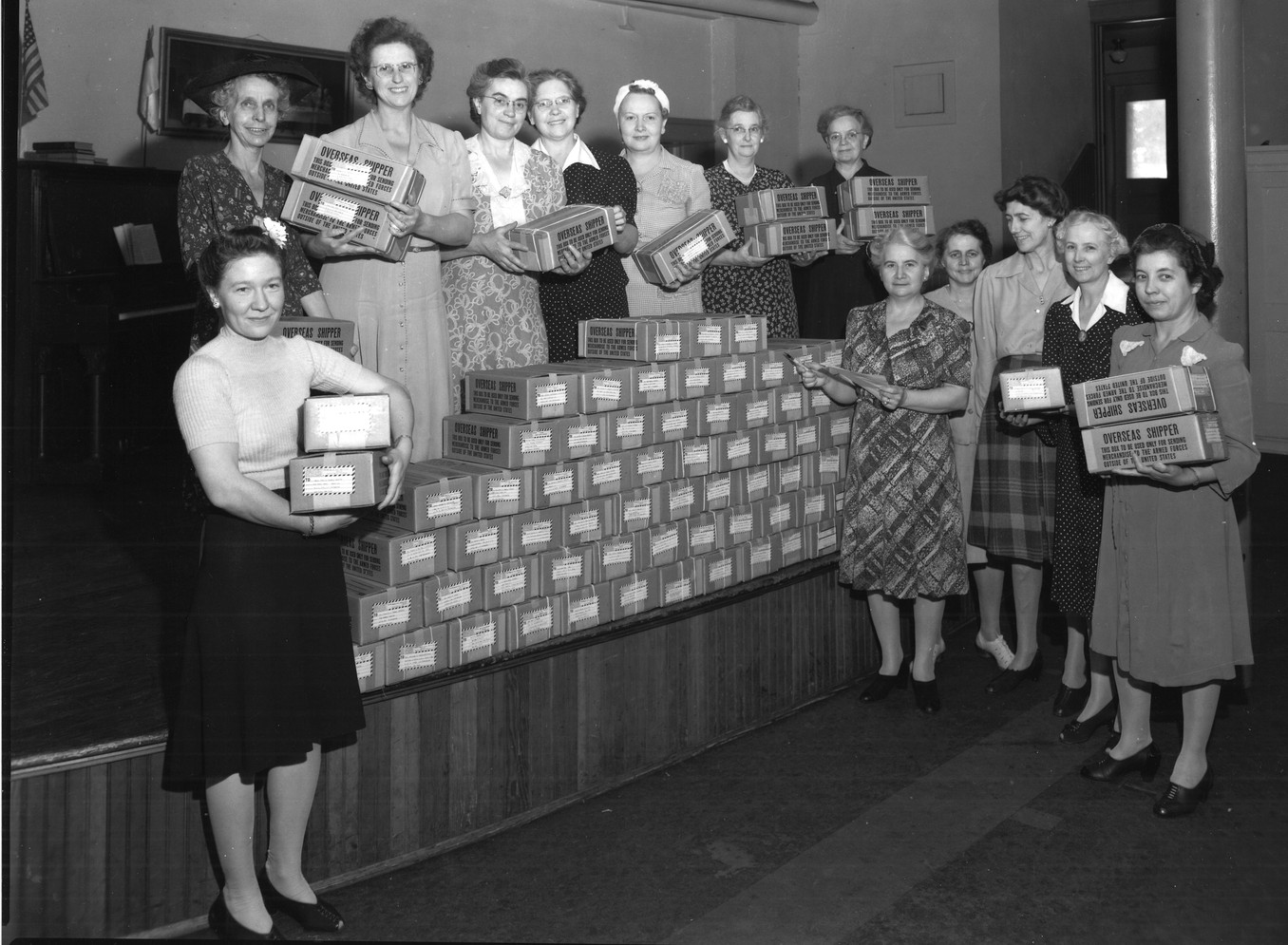 WWII Christmas Packages
