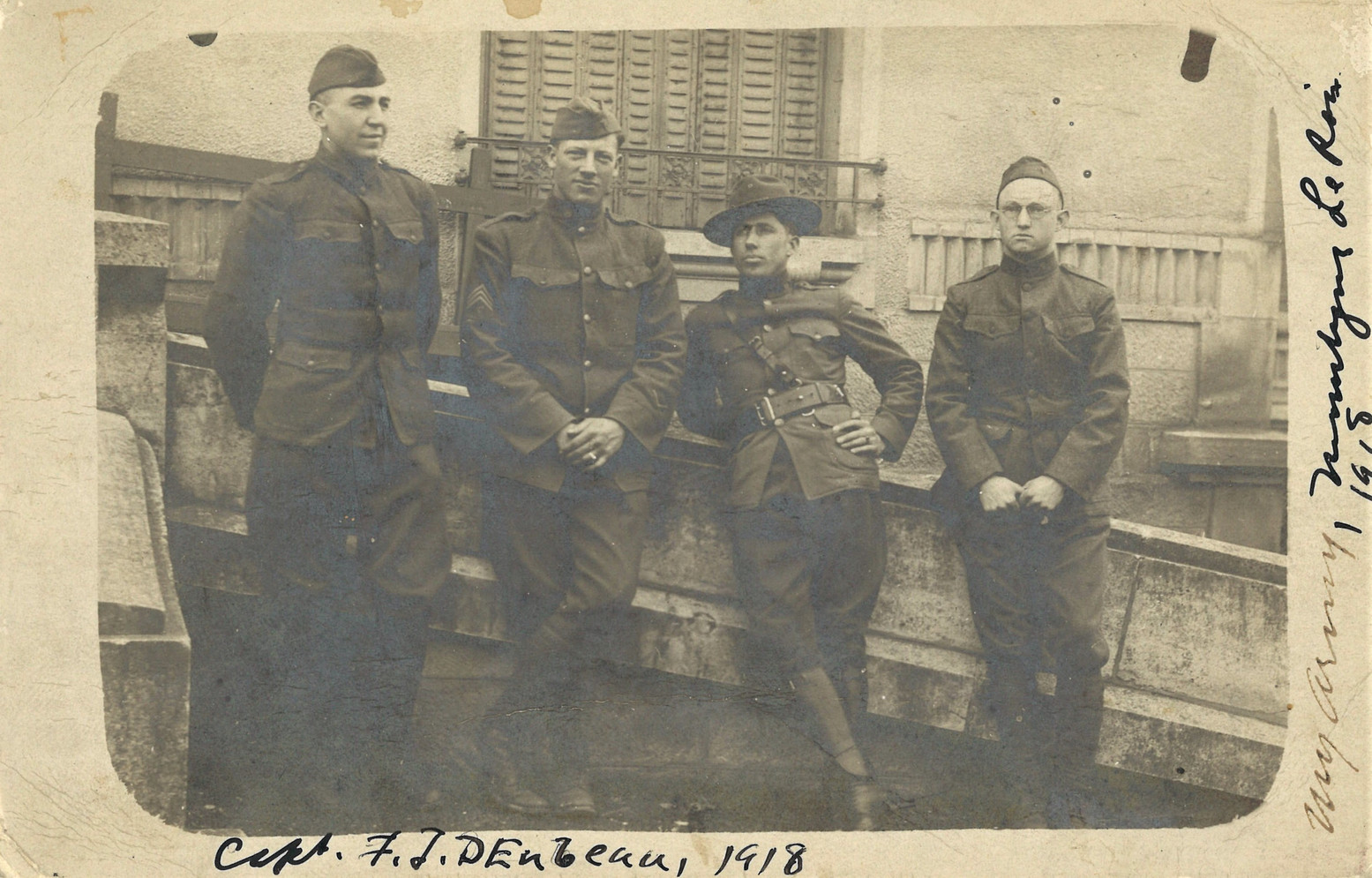 Soldiers Stationed in France in 1918