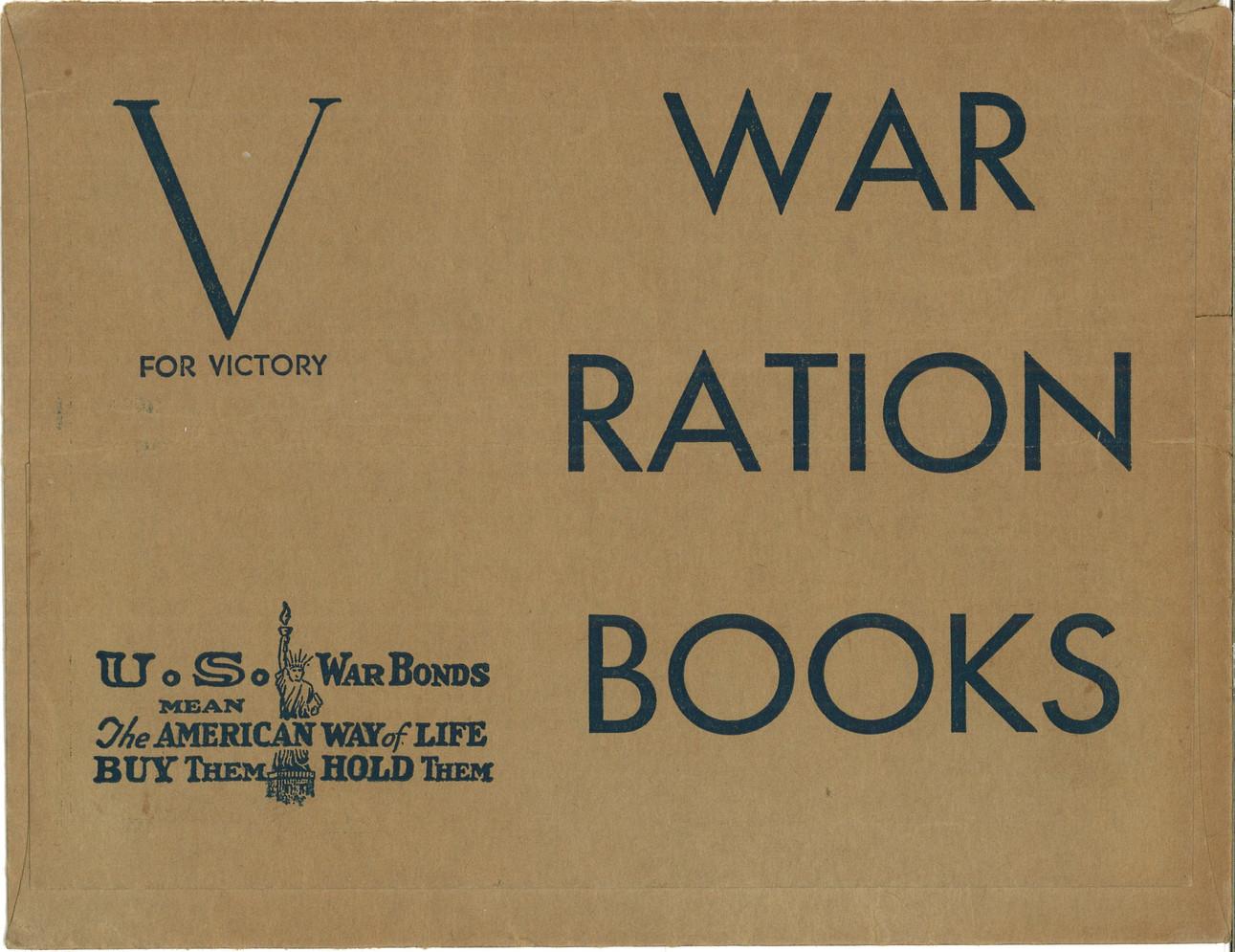 War Rations Book