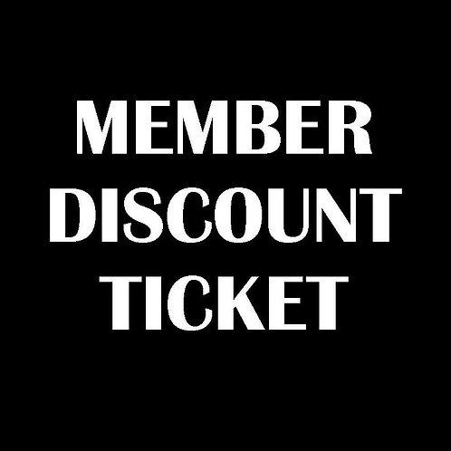 Member Gala Ticket