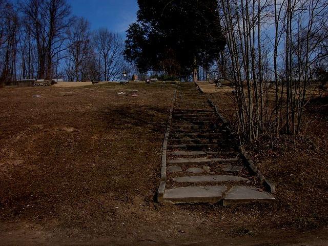 100 Cemetery Steps