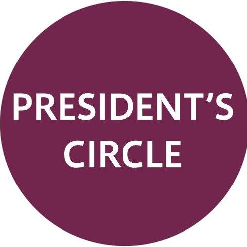 President's Circle Donor Membership