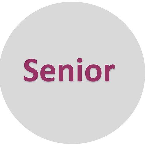 Senior Admission Ticket (Age 60+)