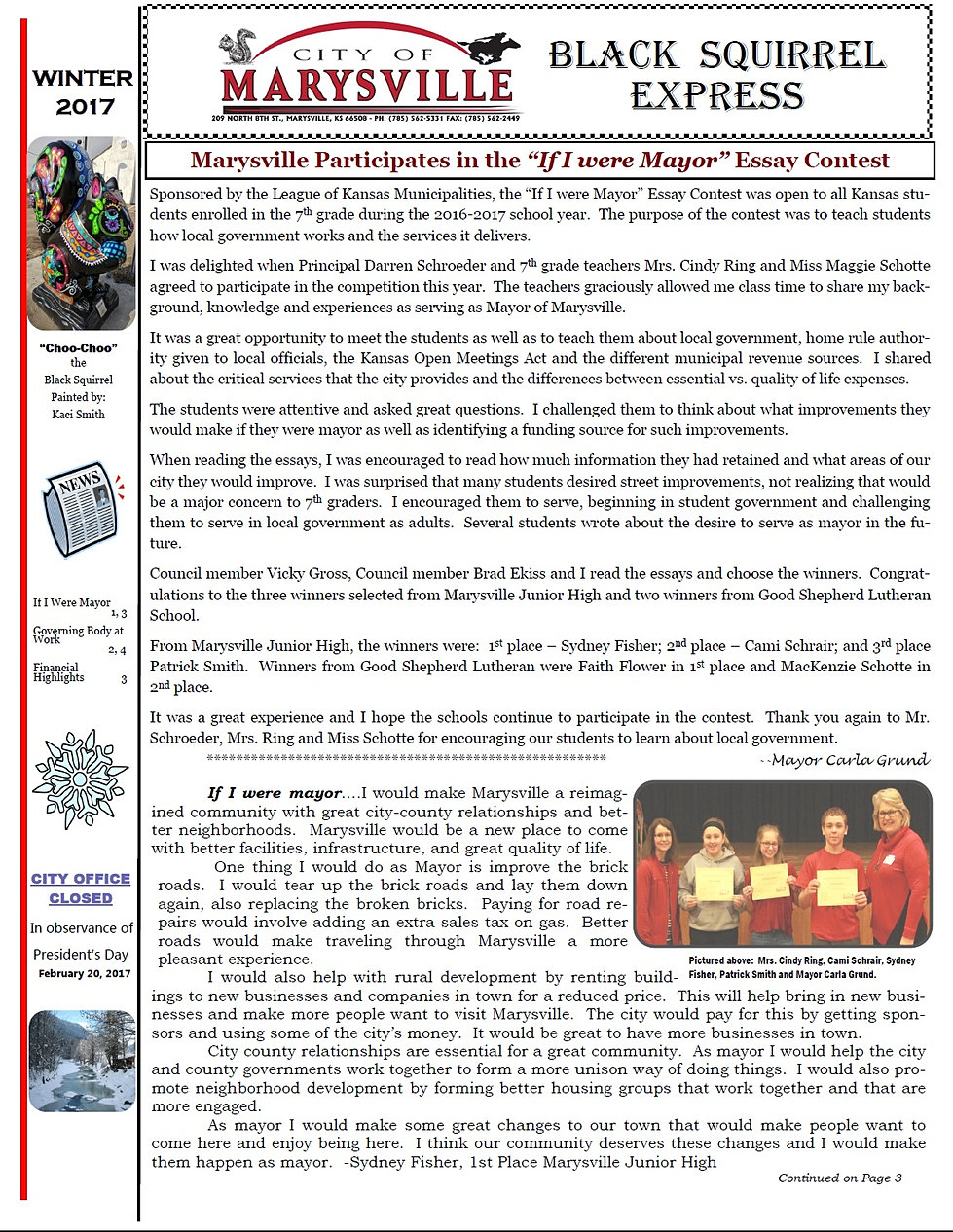 city of marysville ks website newsletter marysville chamber of commerce marysville museums