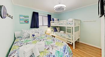 Guest Bedroom Bunks and Queen Bed
