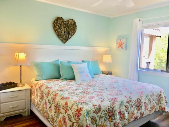 Bright Master Bedroom in Vacation Rental