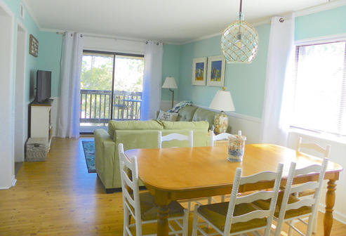 Dining Table in Vacation Rental