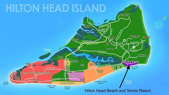 Hilton Head Island Map