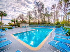 Smaller Pool at Hilton Head Beach and Tennis Resort