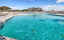Huge Oceanfront Pool at Hilton Head Beach and Tennis Resort