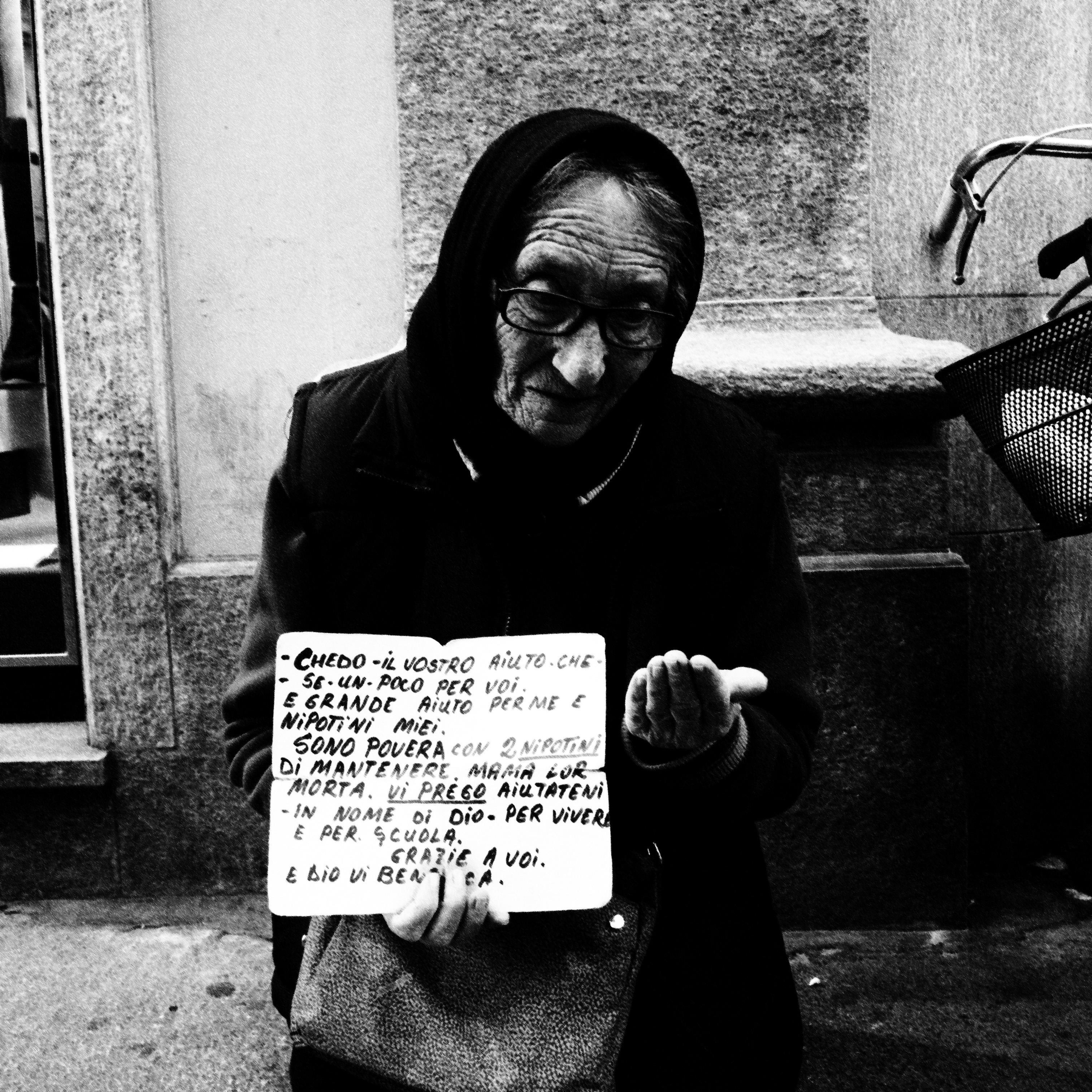 Begging Woman