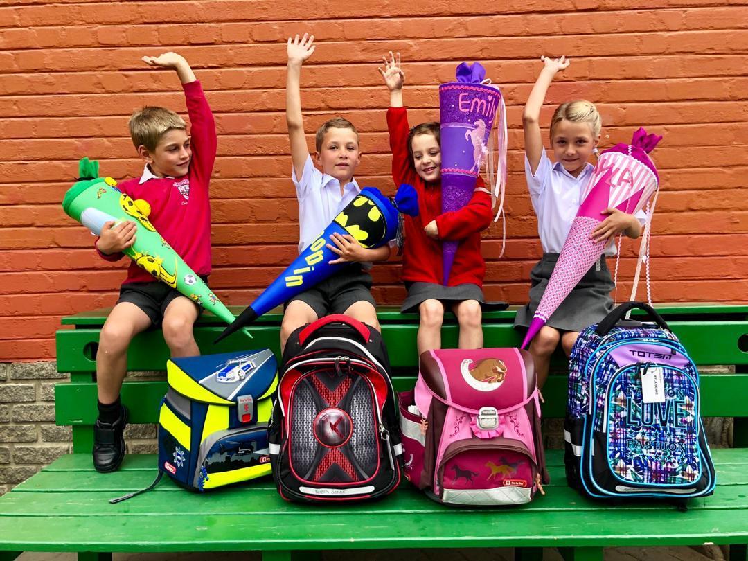 Erste Schultag Klasse 1