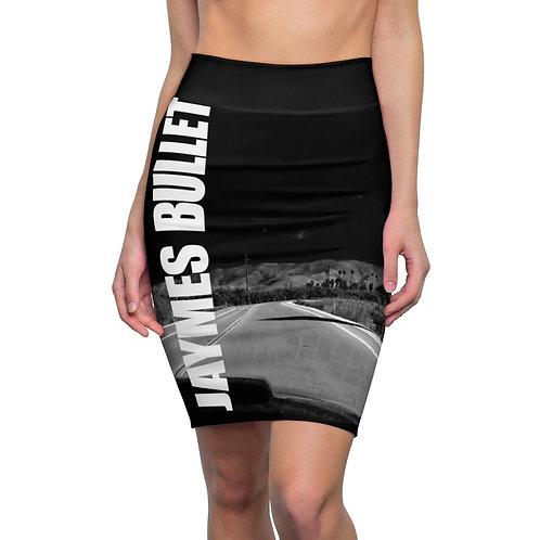 JAYMES BULLET Highway Pencil Skirt