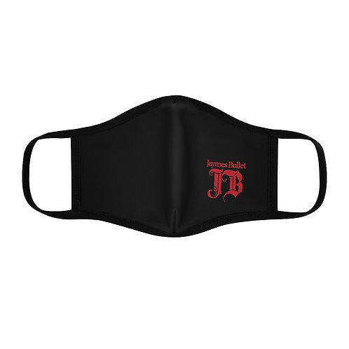 JAYMES BULLET Monogram Logo Double Layer Fitted Face Mask