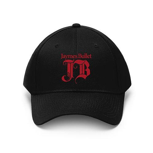 JAYMES BULLET Monogram Logo Embroidered Hat
