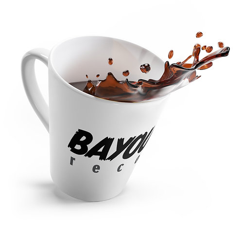 BAYOU NOIR RECORDS Latte Mug