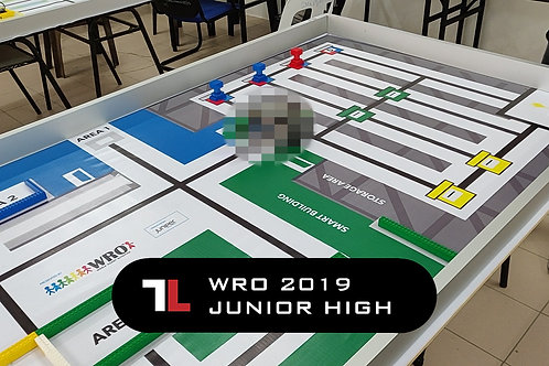 WRO 2019 Junior High (1m30s)