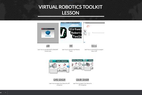 Virtual Robotics Toolkit Lessons