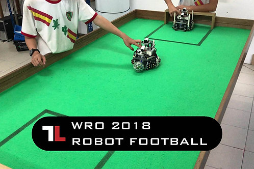 WRO 2018 ROBOT FOOTBALL with Bluetooth