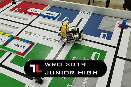 WRO 2019 Junior High (Large Motor)