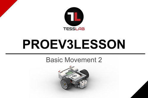 Basic Movement 2 (Large Motor Robot)