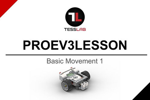 Basic Movement 1 (Large Motor Robot)