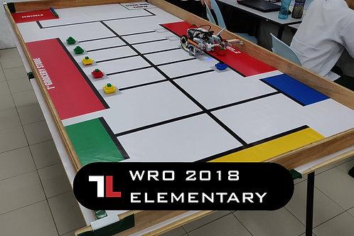WRO 2018 Elementary (18sec)
