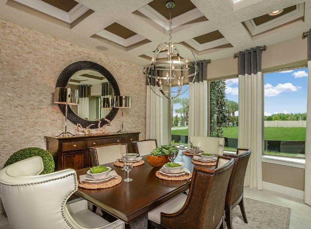 Orlando-Florida-Pulte-Enclave-VillageWalk-Portside-Dining-Room