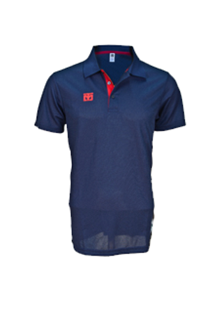 Parent Polos Navy w/ Red