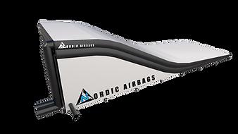 Freestyle motocross airbag landing
