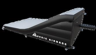 BMX landing airbag