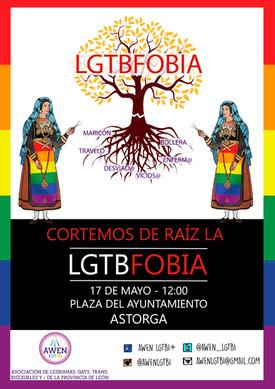 CORTEMOS DE RAÍZ LA LGTBFOBIA