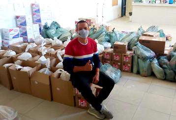 Foto tirada pelo voluntário Wanyr Abreu Souto