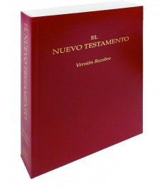 Nuevo Testamento Versión Recobro, Económica Granate