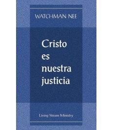 Cristo es nuestra justicia