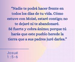 Josue 1:5-6