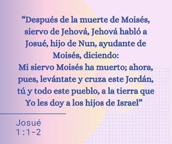 Josué 1:1-2