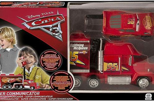 Cars 3. Super Communicator Mack Truck E McQueen