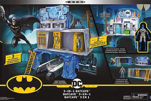 BATMAN Playset Batcaverna 3 In 1