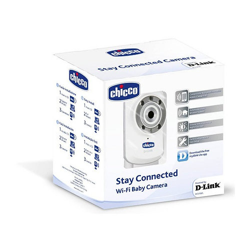 CHICCO STAY CONNECTED D-LINK WIFI BABY CAMERA