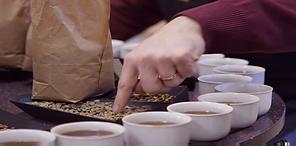 All kaffe prøvesmakes før og etter brenning