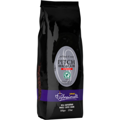 Pitch Black Espresso hele bønner (Rainforest Alliance)