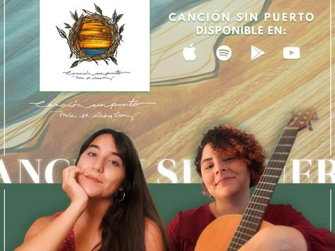 """Mila junto a Andrea Cruz presentan: """"Canción Sin Puerto"""" para combatir el Covid-19."""