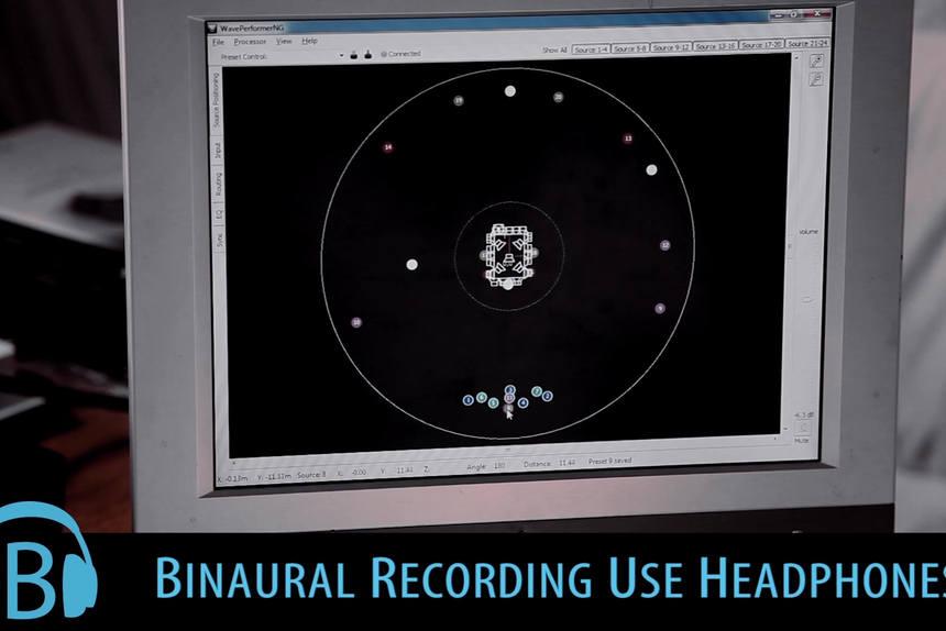 DEMO binaural Audio 3D