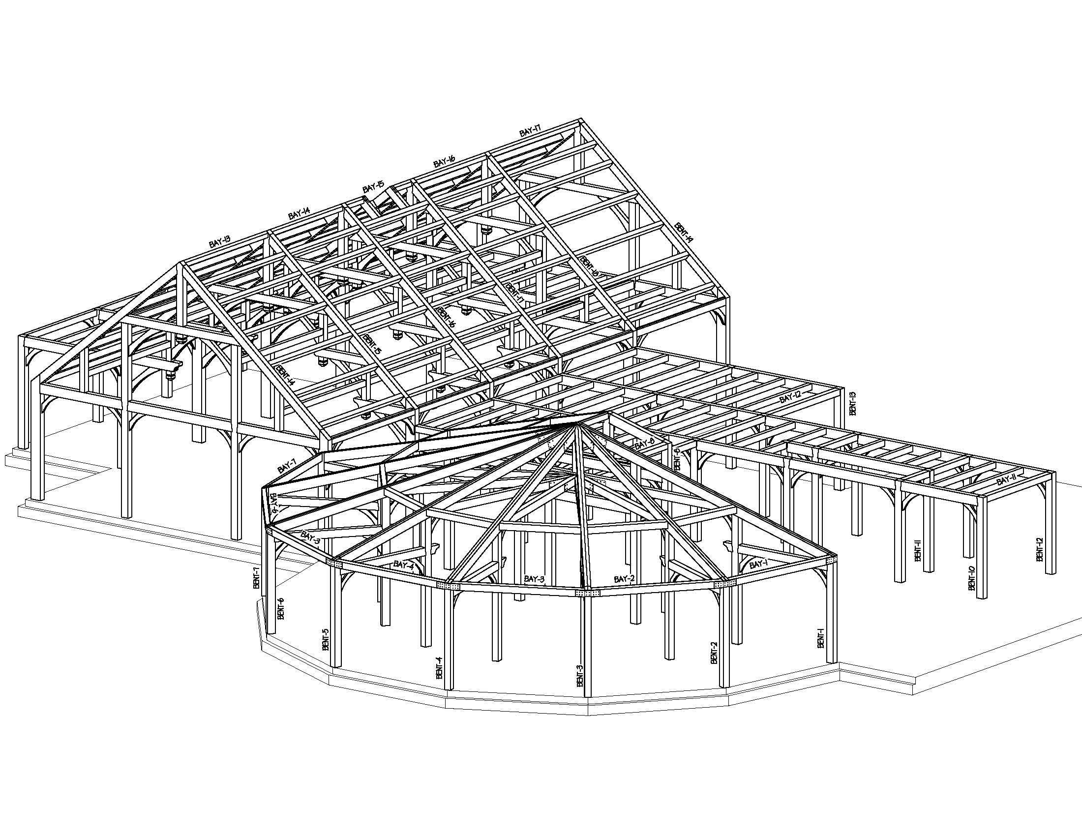 Timber Frame Iso