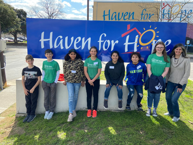 Volunteering at Haven for Hope