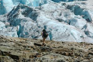 Matier Glacier above Upper Joffre Lakes