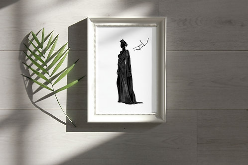 'Virgo' Print