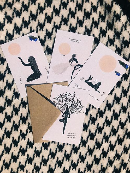 Card Set - 4 Cards