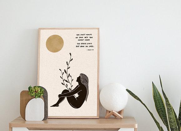 'True Growth' Print